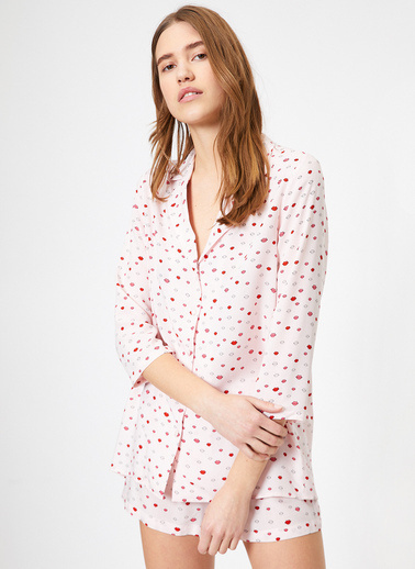 Koton Pijama Üst Pembe
